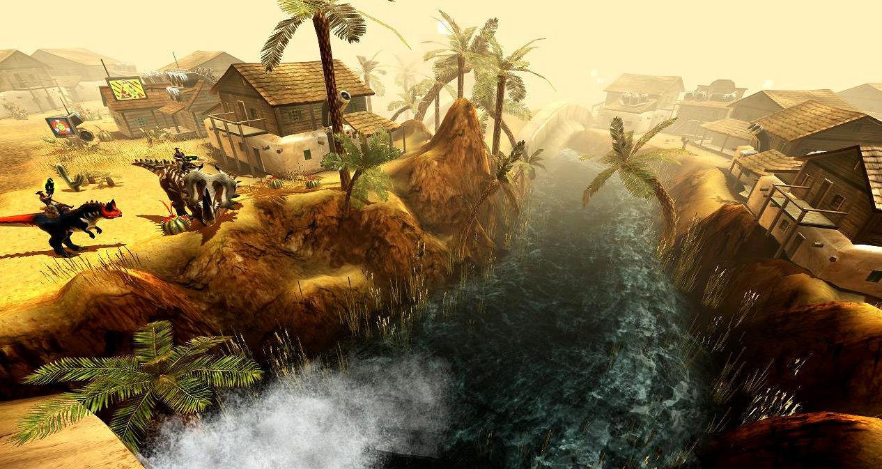 Бесплатно играть в браузерный экшен - Dino Storm