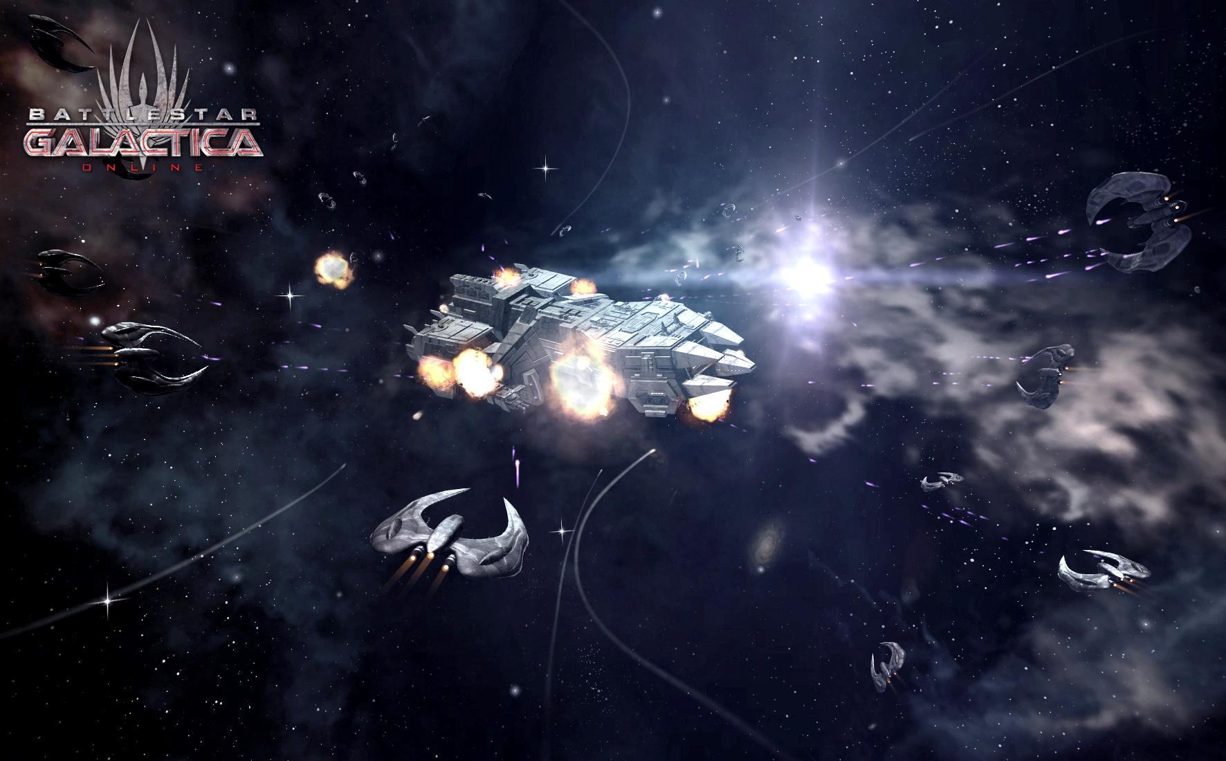 Играть в Battlestar Galactica Online