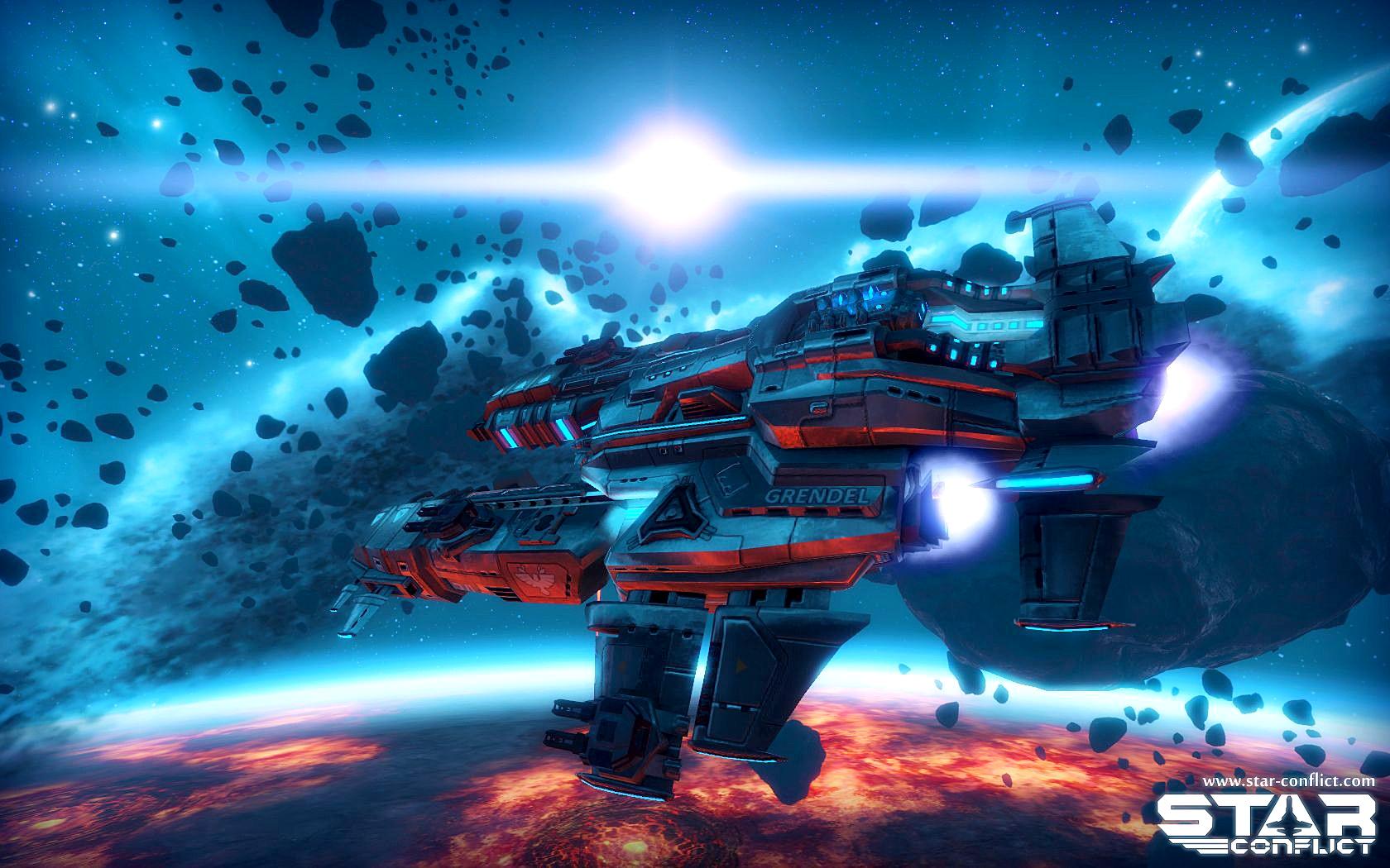 Играть в космический симулятор - Star Conflict