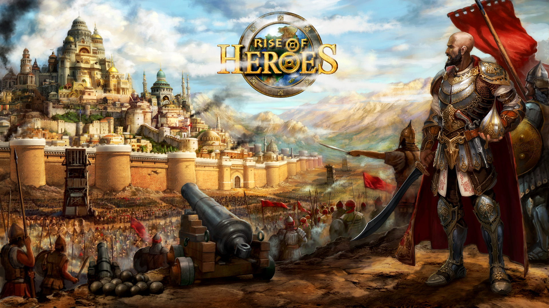 Браузерная онлайн игра Rise of Heroes