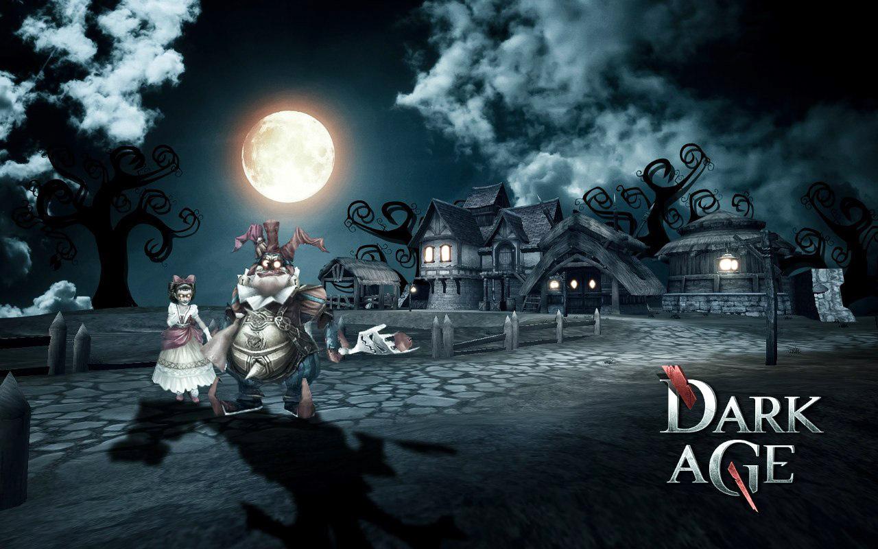Играем в клиентские онлайн игру Dark Age
