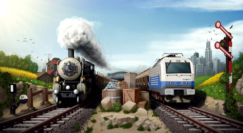 Браузерная онлайн игра Rail Nation