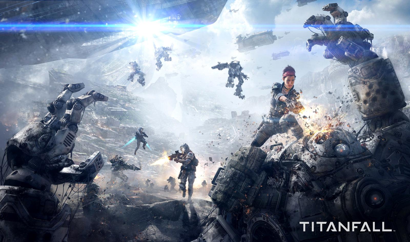 Онлайн игра Titanfall