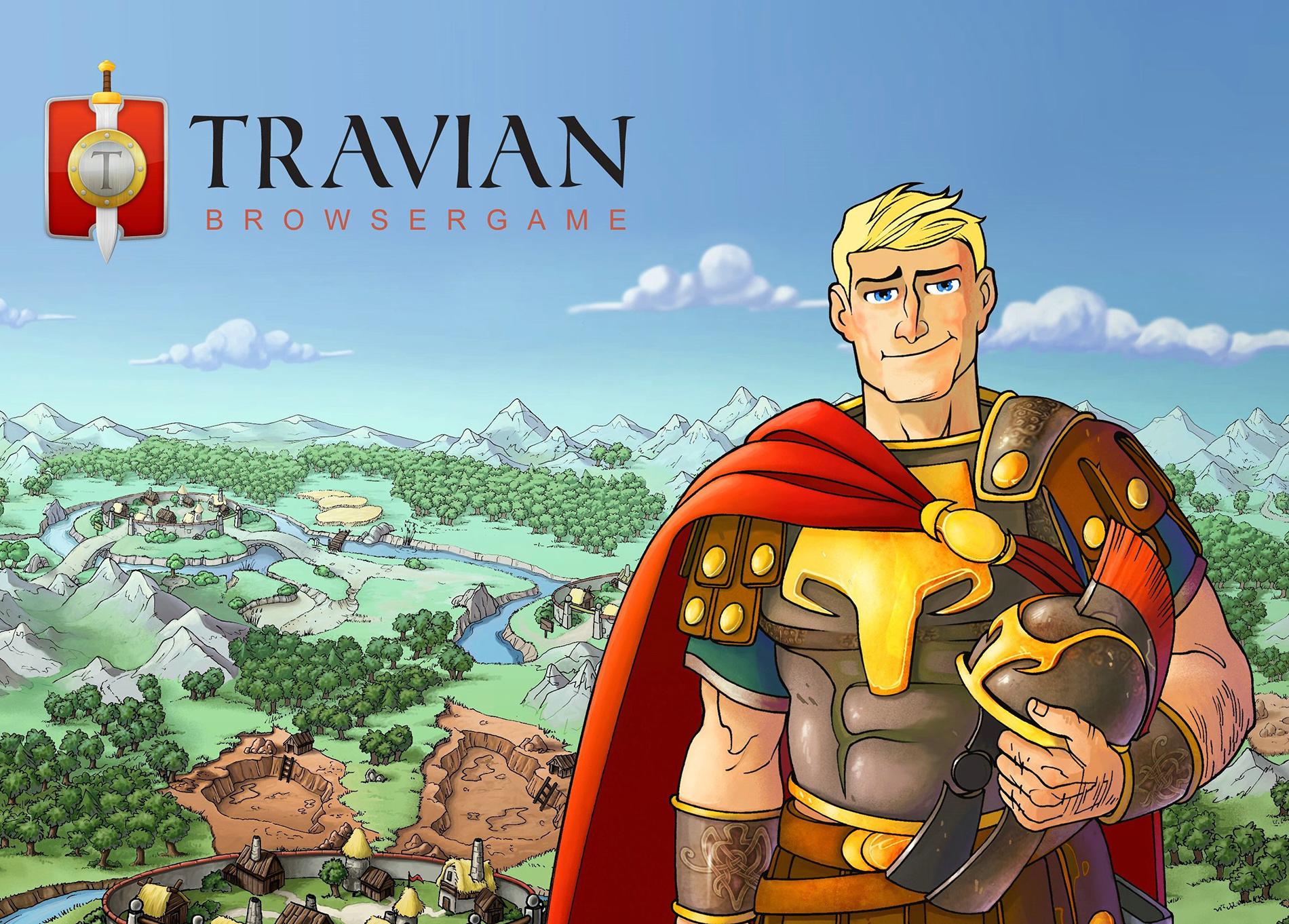 Браузерная онлайн игра TRAVIAN